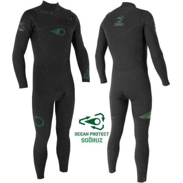 Combinaison watersports éco-responsable pour homme à vendre chez Squid Surfboards