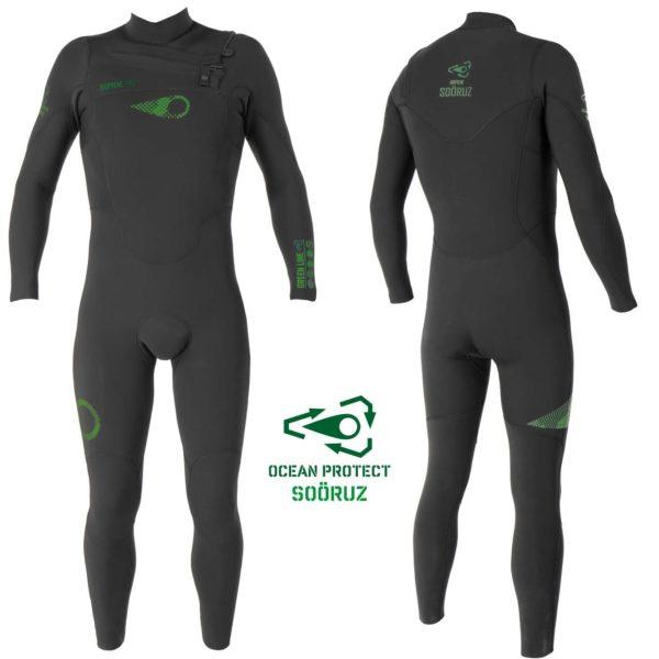 Combinaison watersports éco-responsable pour homme en vente chez Squid Surfboards