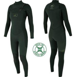 Combinaison de surf écoresponsable pour femme en vente chez Squid Surfboards