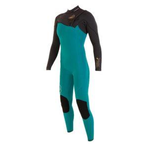 Combinaison de surf recyclé et performante pour femme en vente chez Squid Surfboards