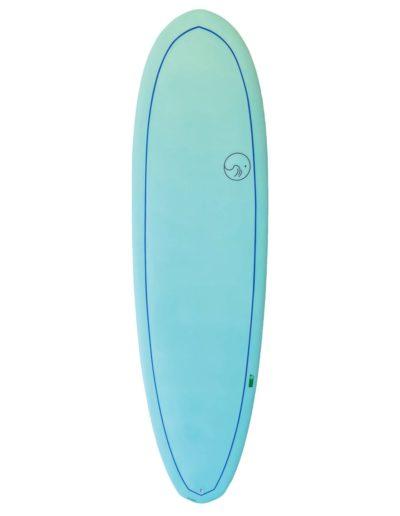 planche de surf dessus KOAION squid surfboards